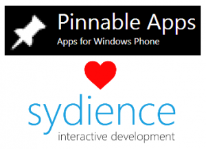 Pinnable Apps <3 Sydience